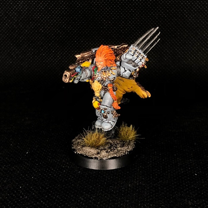 Lukas the Trickster Wh Miniatures, Space wolves, Warhammer 40k, Миниатюра, Wh painting, Длиннопост