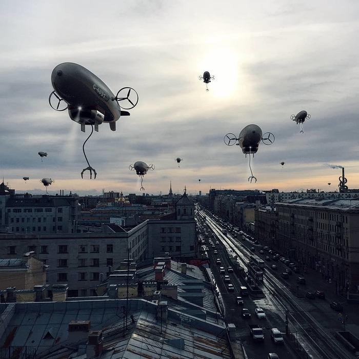 Будь осторожен Бестиарий Петербурга, Photoshop, Fake News