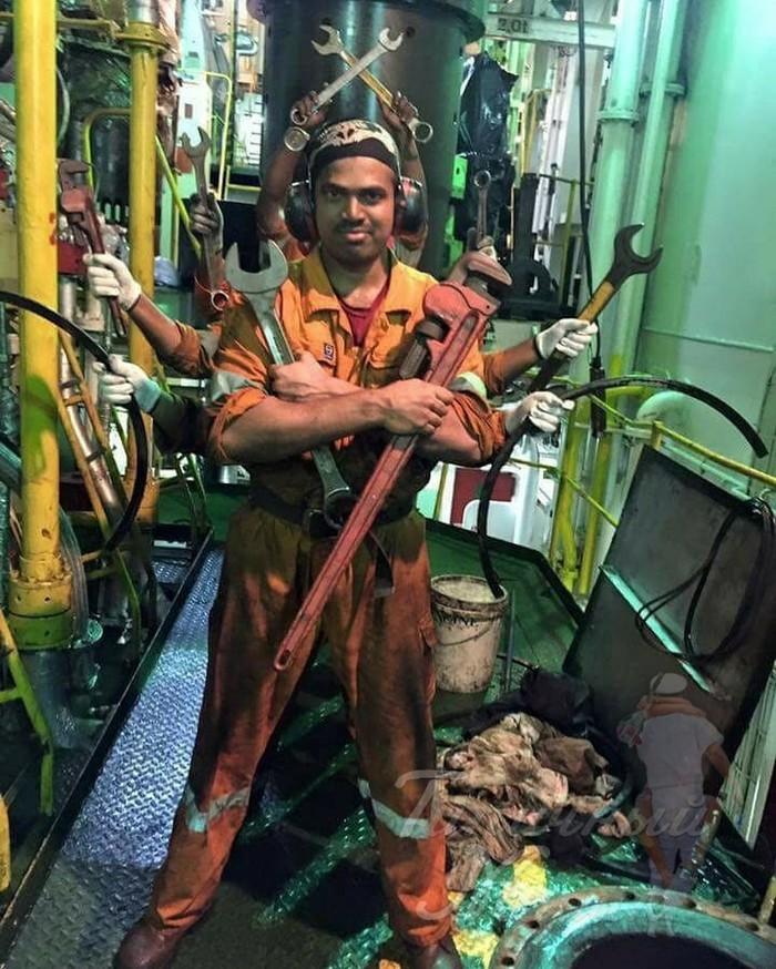 Индийский бог машинного отделения