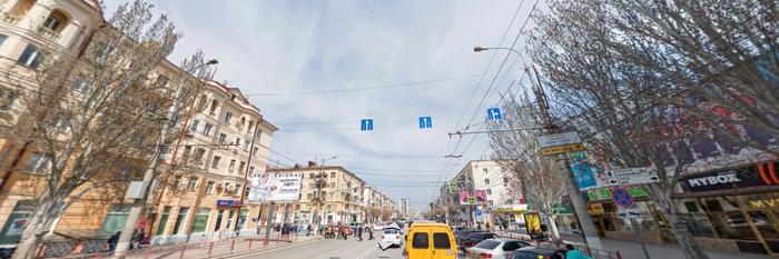 Бабульке очень повезло ДТП, Столб, Левый поворот, Пешеход, Везение, Не проскочил, Волгоград, Гифка