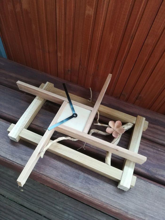 """Настенные часы """"Сакура"""" Часы, Настенные часы, Резьба по дереву, Японский стиль, Сакура, Видео, Длиннопост"""