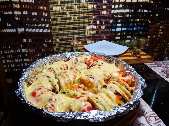 Рататуй (около того) Nikitanice, Niknicefood, Еда, Овощи, Кулинария, Длиннопост, Рецепт