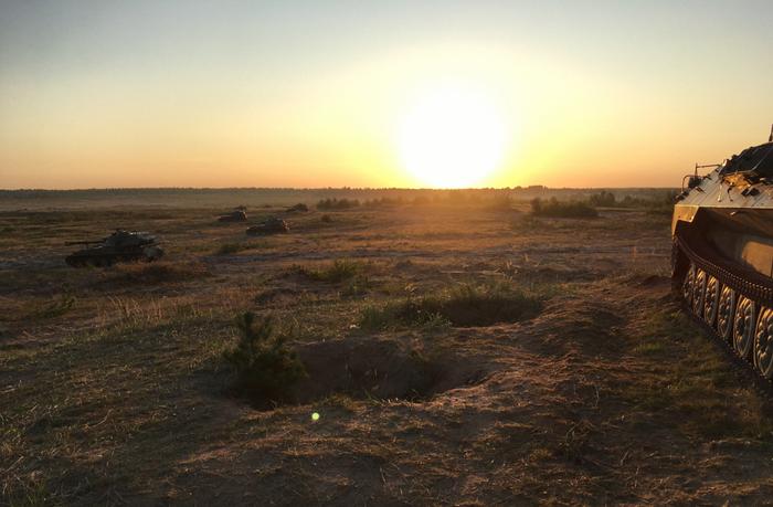 Лето в Армии Армия, Природа, Фотография, Снаряд, Броня, Длиннопост