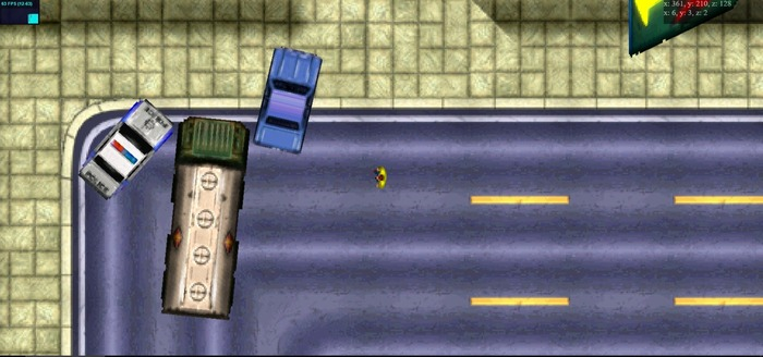 О прототипе первой GTA на  WebGL / GTA 2 на WebGL+ бонус GTA, Браузерные игры, Онлайн-Игры, Гифка, Длиннопост