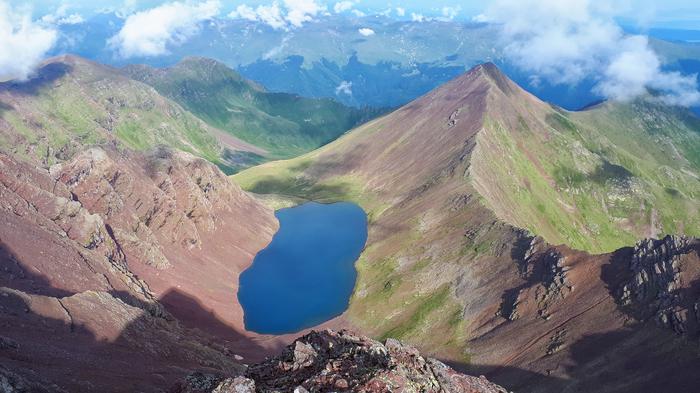 Озеро Кынгыр-Чад Озеро, Горы, Поход, Восхождение, Туризм, Фотография, Пейзаж, Природа