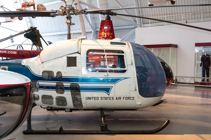 Bell UH-13J Sioux.Вертолет  Эйзенхауэра. Вертолет, США, Президентский борт, Длиннопост