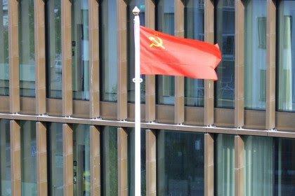 Флаг СССР над Швецией СССР, Флаг, Диверсия, Новости, Политика