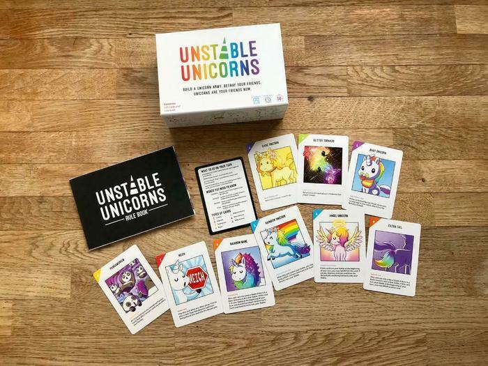 UNSTABLE UNICORNS: для самостоятельной печати на Русском! Настольные игры, Перевод, Длиннопост, Своими руками, Unstable Unicorns, Kickstarter