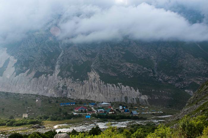 Место для впечатлений с избытком — здесь тренируются лучшие альпинисты Кавказ, Природа, Горы, Альпинизм, Фотография, Длиннопост