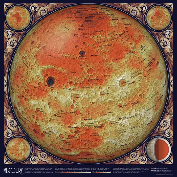 Карта орбит Солнечной системы, которая взорвет ваш мозг. Наука, Космос, Интересное, Длиннопост, Элеонора Лутц, Карты, Солнечная система