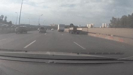 Вот к чему приводят шашки на дороге