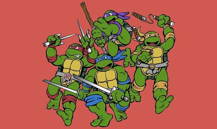 d15bb6758 Teenage Mutant Ninja Turtles: Rescue-Palooza!. Халява, Бесплатно!, Ретро