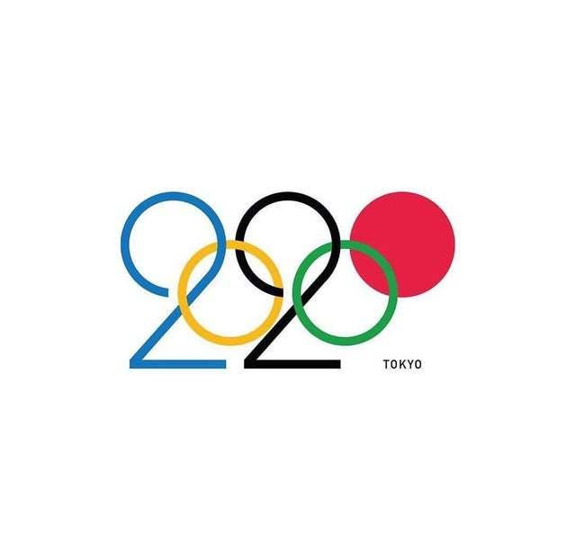 Логотип сделанный Дареном Ньюманом для Олимпиады в Токио