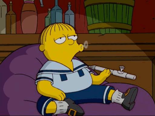 Симпсоны на каждый день [26_Июня] Симпсоны, Каждый день, Наркомания, Гифка, Длиннопост