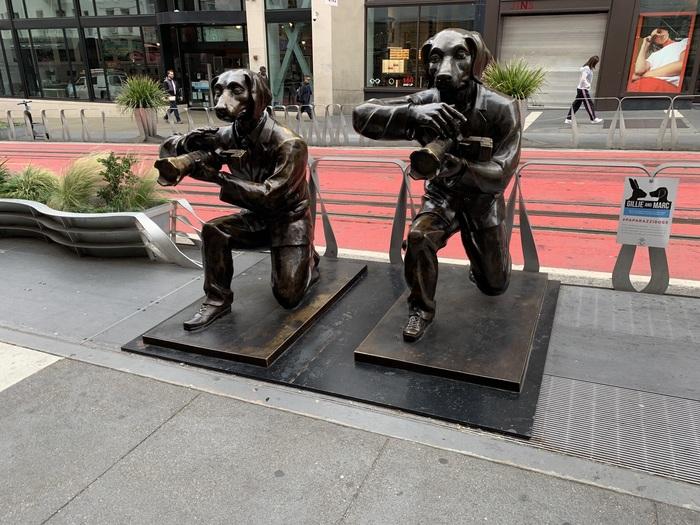 А хотите я вас из фоторужья щёлкну? Скульптура, Сан-Франциско, Папарацци, Простоквашино, Шарик, Фотография, Собака