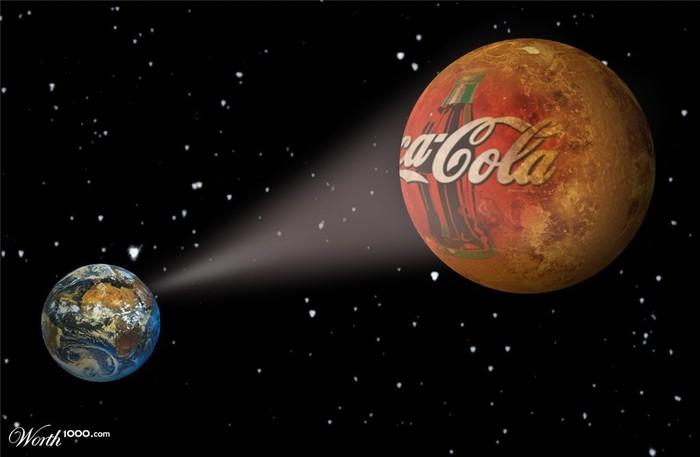 Россия может вывести на орбиту космический баннер