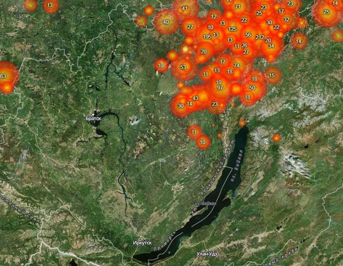 О чем молчат о пожарах в Сибири. Сибирь, Пожар, Длиннопост, Лесные пожары