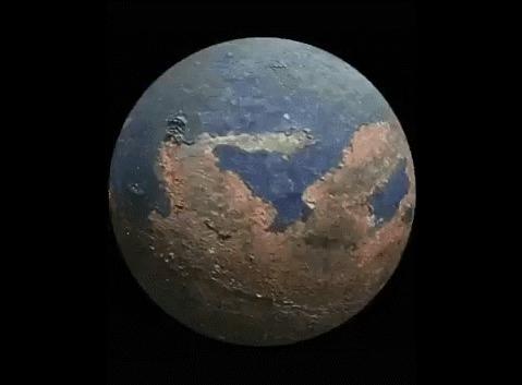 Земля 300 000 000 лет назад