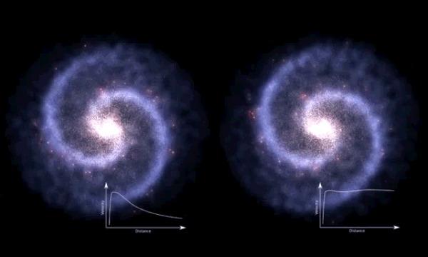 Что скрывает темная материя и почему ученые до сих пор не смогли доказать ее существование Космос, Вселенная, Темная материя, Неизведанное, Гифка, Длиннопост, Физика, Астрофизика, Астрономия, Наука