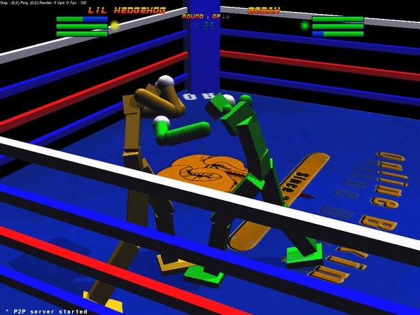Лучший симулятор бокса - online boxing 3d Бокс, Игры, Нокаут, Длиннопост, Симулятор, Гифка