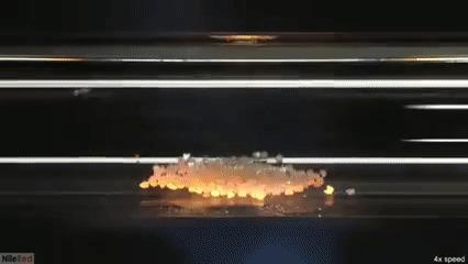 Углерод в гифках Гифка, Углерод, Графит, Алмаз, Химия, Эксперимент, Огонь, Длиннопост