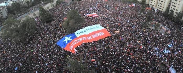 Самый большой протест в истории Чили Чили, Сантьяго, Протест, Митинг, Длиннопост