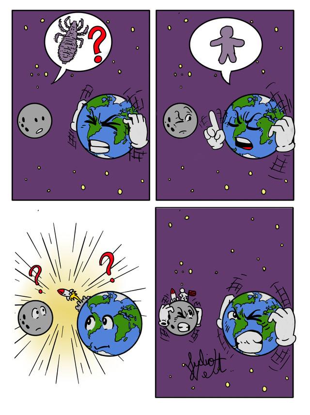 Проблемы планет Комиксы, Планета, Планета Земля, Луна, Сатурн, Юпитер, Длиннопост