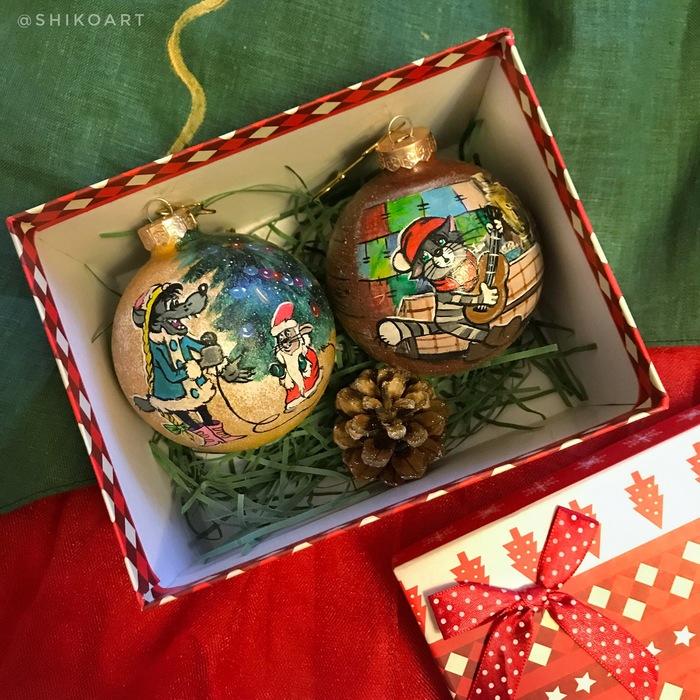 А я тут шариками балуюсь Новый Год, Елочные игрушки, Творчество, Рисунок, Интересное, Подарки, Пятничный тег моё, Видео, Длиннопост