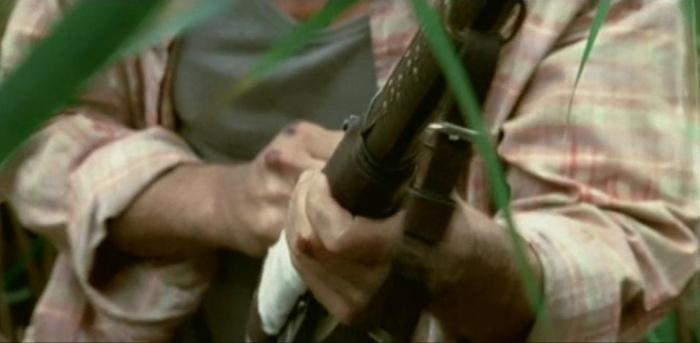 Охота на Пиранью. Стволы и лезвия Оружие, Дробовик, Боевики, Длиннопост