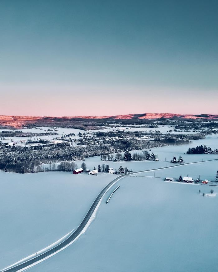 Утро в Норвегии