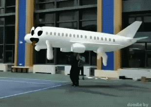 Самолетик хочет на ручки