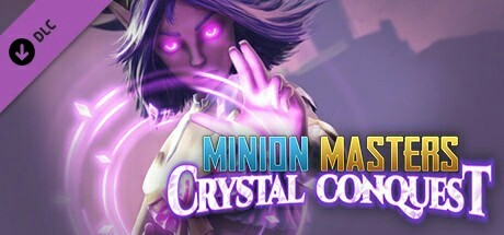 Бесплатное дополнение для Minion Masters - Crystal Conquest Steam, Minion Masters, Халява