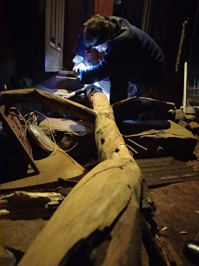 Гнездо Мебель своими руками, Кровать, Работа с деревом, Своими руками, Длиннопост