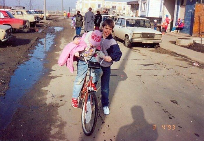 Интересные фотографии 90 -х (часть 8)