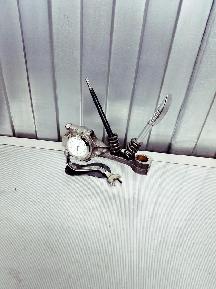 Часы органайзер криворукого слесаря