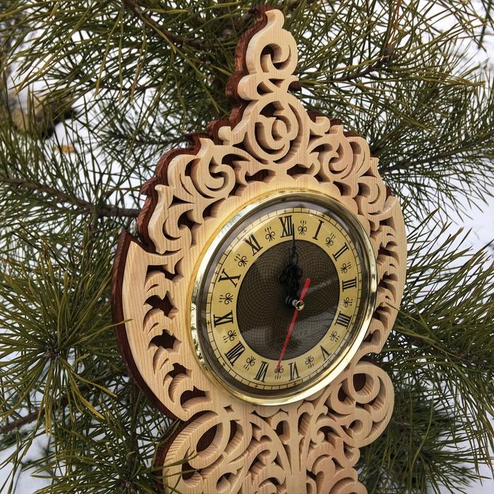 Настенные часы по старинным чертежам на лобзиковом станке Часы, Лобзик, Выпиливание, Рукоделие с процессом, Деревообработка, Столярка, Видео, Длиннопост