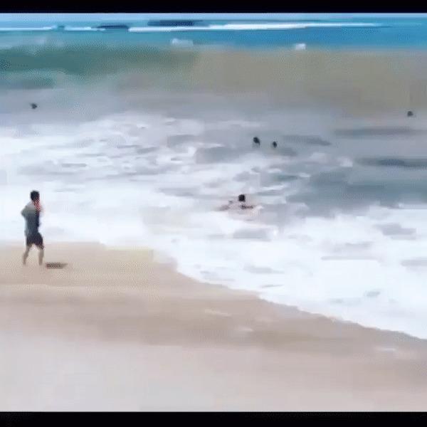 Поймал волну