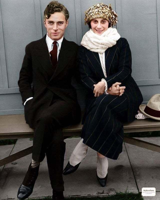 Чарли Чаплин и Анна Павлова