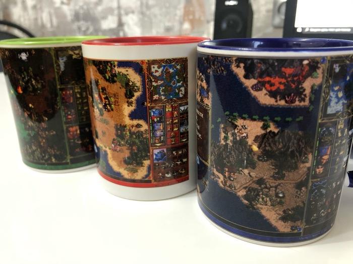 Маленькая чайная коллекция по героям
