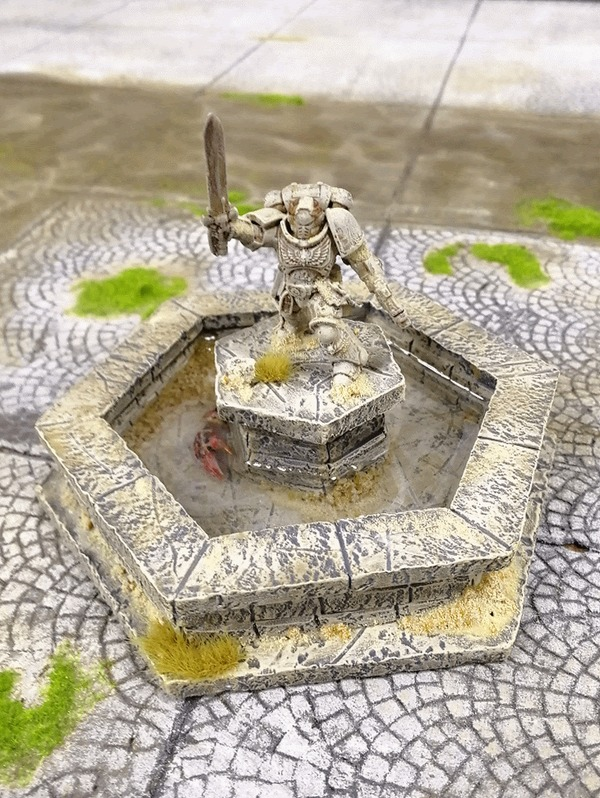 Террейн для вархаммера Warhammer 40k, Террейн, Моделизм, Wh miniatures, Гифка, Длиннопост