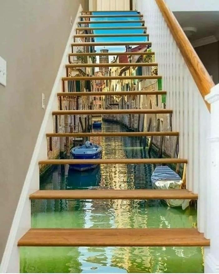 Классные  идеи для лестниц