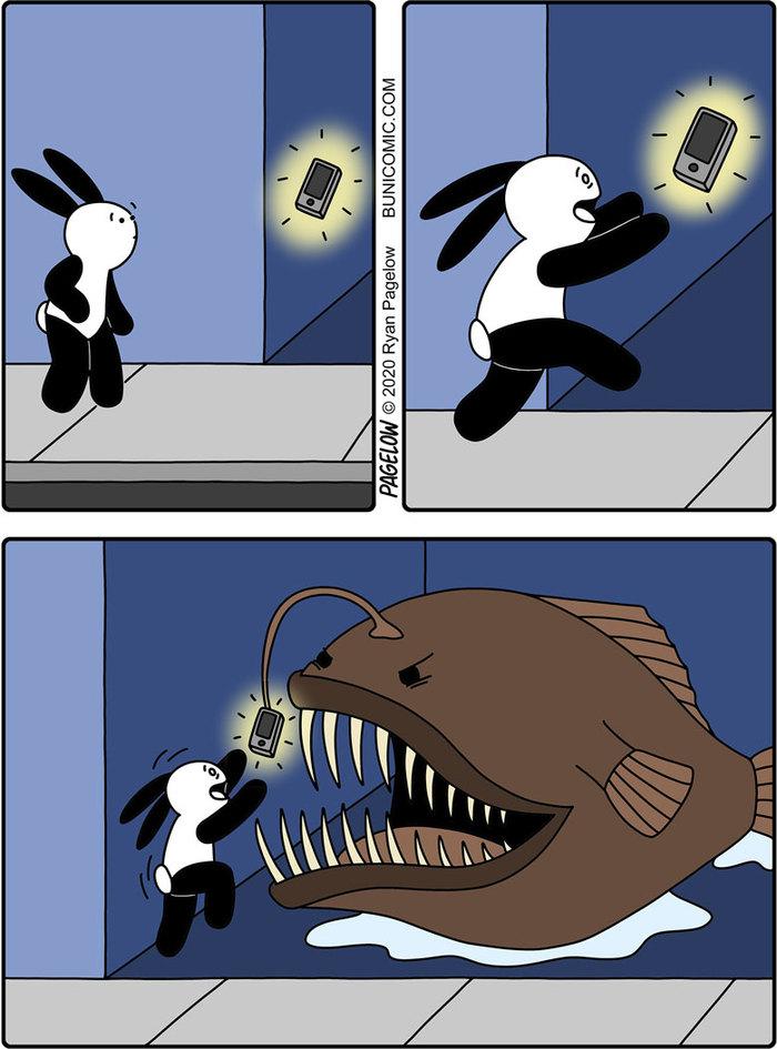 Удильщик или рыба - кредит