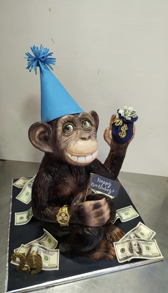 Необычный торт на день рождения