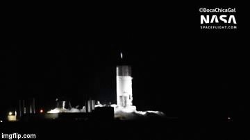SpaceX разнесли еще один прототип SpaceX, Starship, Гифка, Видео