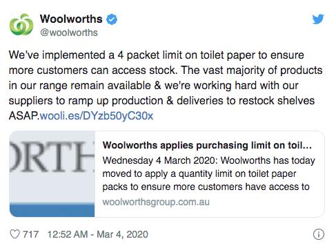 Премьер западной Австралии призывает не паниковать покупателей, сурдопереводчик доставляет