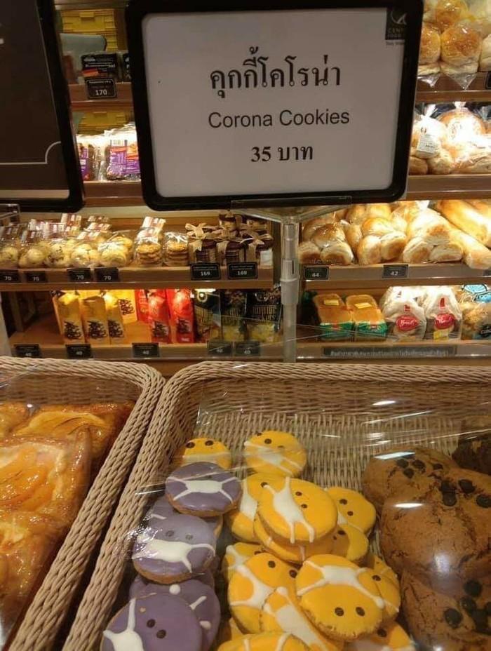 Печенье в Таиланде