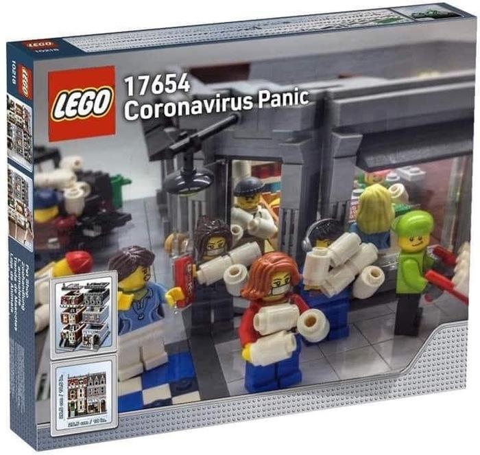 Теперь и в Лего...