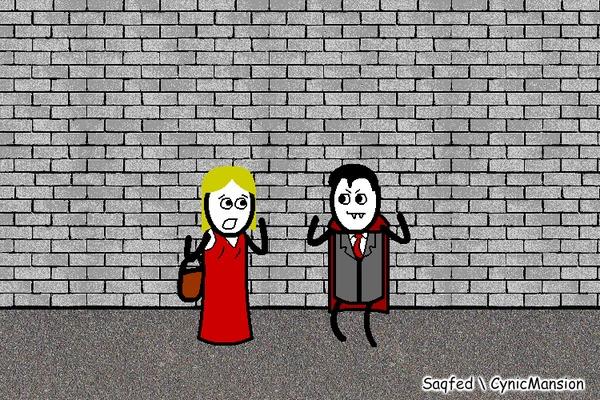 Вампирское (Анимированный комикс №38) CynicMansion, Гифка, Анимация, Комиксы