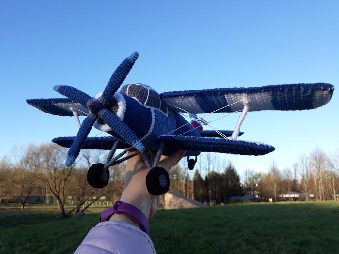 Вязаный АН-2 или еще самолет крючком