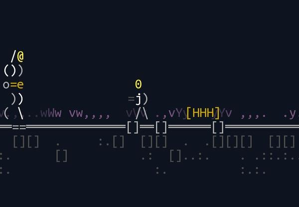 Инди платформер с ASCII-артом и процедурной генерацией ASCII Art, Инди игра, Процедурная генерация, Платформер, Android, Гифка, Длиннопост